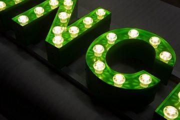 Doosletter profiel 2 met bulb vegas LED